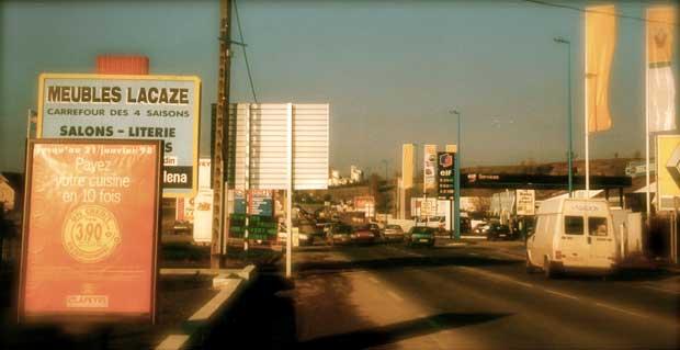 Entrée de ville de Rodez