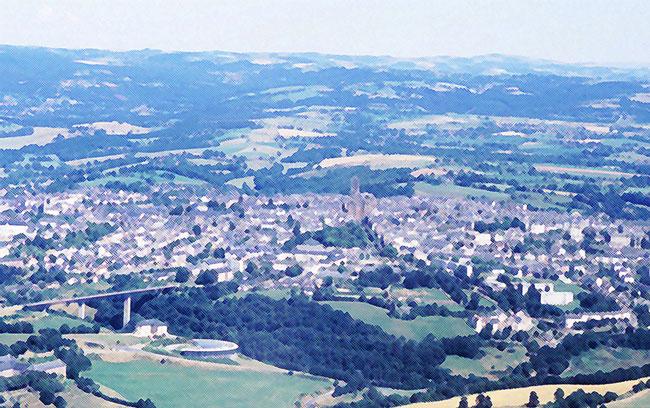 Ecrire et dessiner les villes Rodez