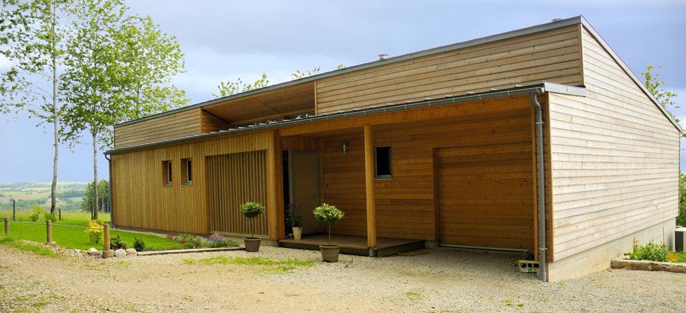 Maison bois entree c a u e actualites for Entree de la maison