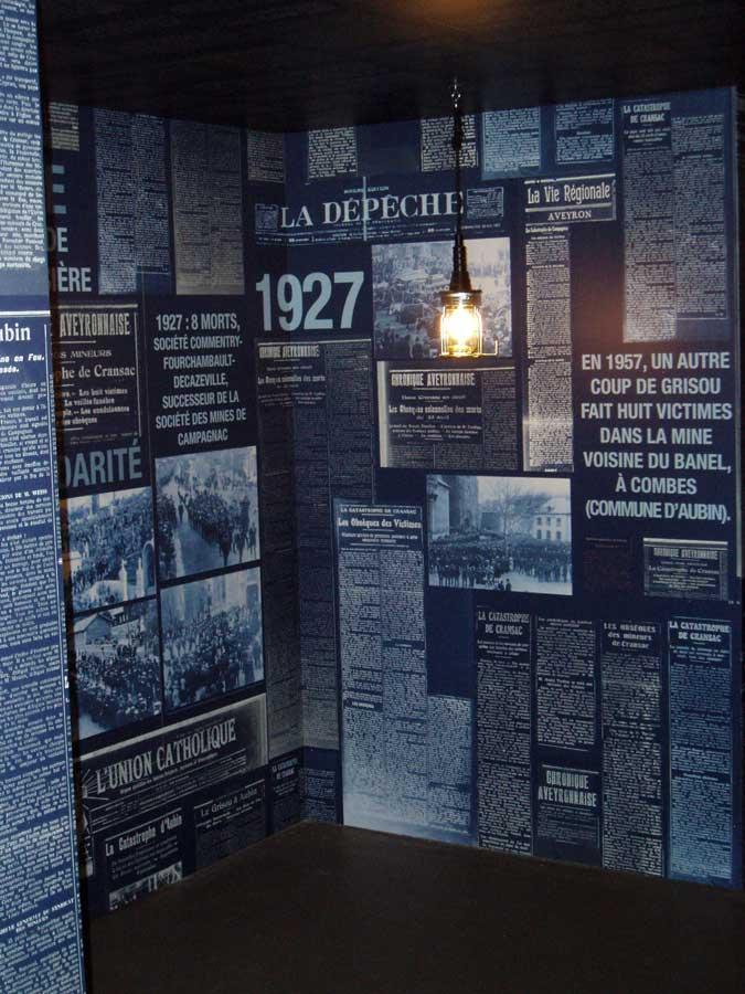 panneaux du musée